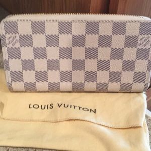 Handbags - Louis Vuitton damier azur zippy wallet